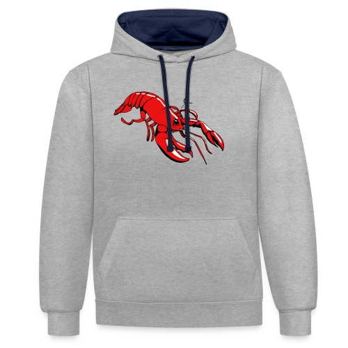 Lobster - Contrast Colour Hoodie