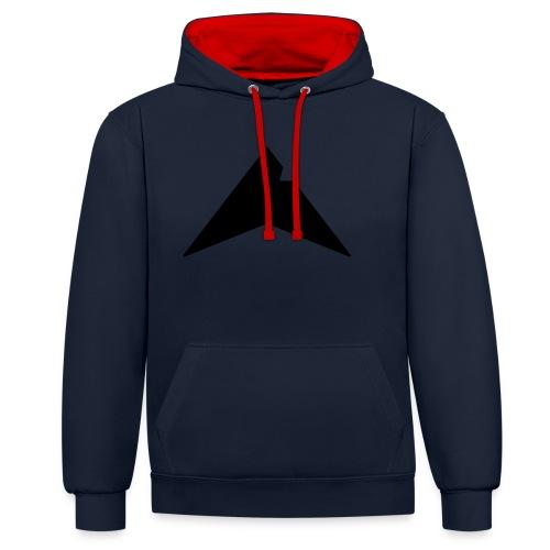 UP-CLAN Logo - Contrast hoodie