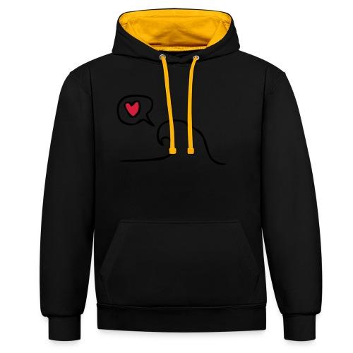 Love Wave - Contrast hoodie