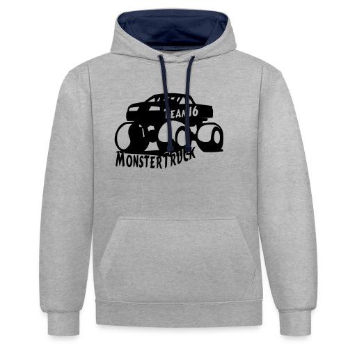 logo mtteam16 noir - Sweat-shirt contraste