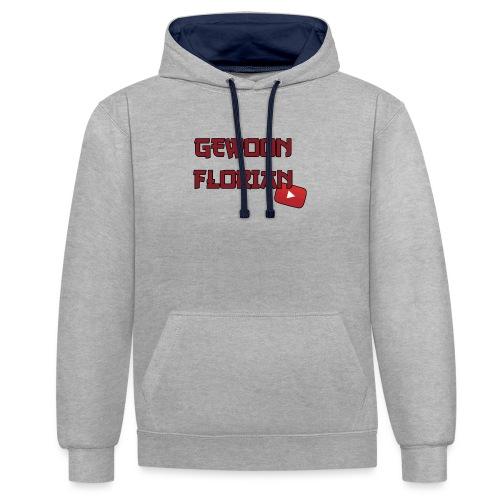 GewoonFlorian - Snapback - Contrast hoodie