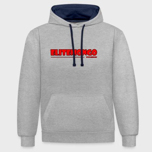 Elitemongo - Kontrast-Hoodie