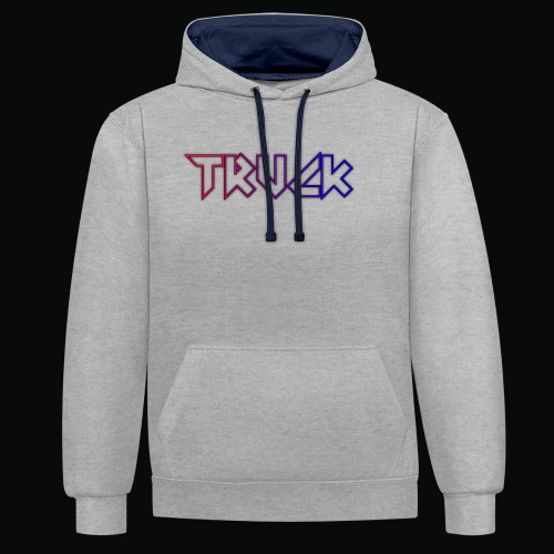 TRUCK - Contrast Colour Hoodie