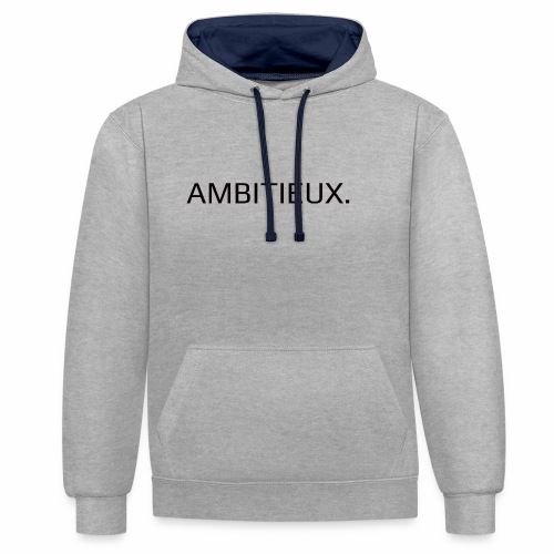 Ambitieux - Sweat-shirt contraste