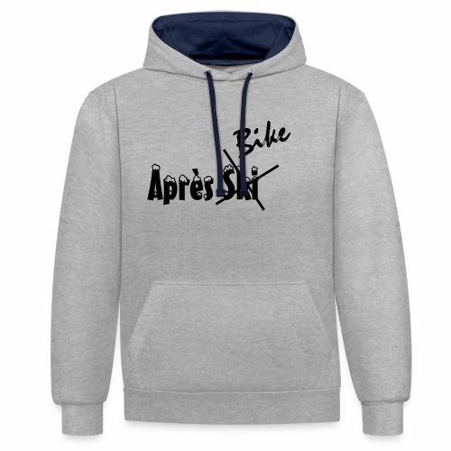 Apres_Bike - Kontrast-Hoodie