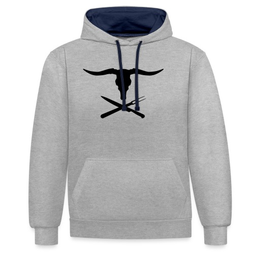 Cowly Roger - Contrast hoodie