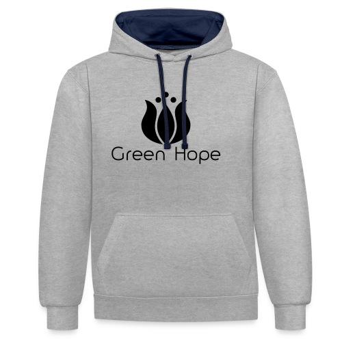 Logo + Ens GreenHope - Sweat-shirt contraste