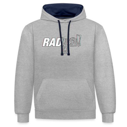 RADYO! - T-Shirt - Kontrast-Hoodie
