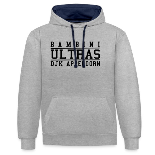 Bambini Ultras - Kontrast-Hoodie
