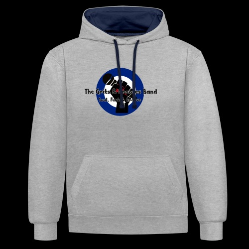 Grits & Grooves Band - Contrast Colour Hoodie