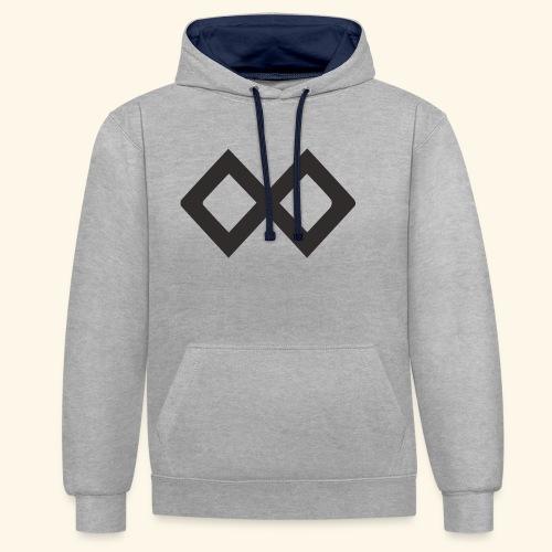 TenX Logo - Kontrast-Hoodie