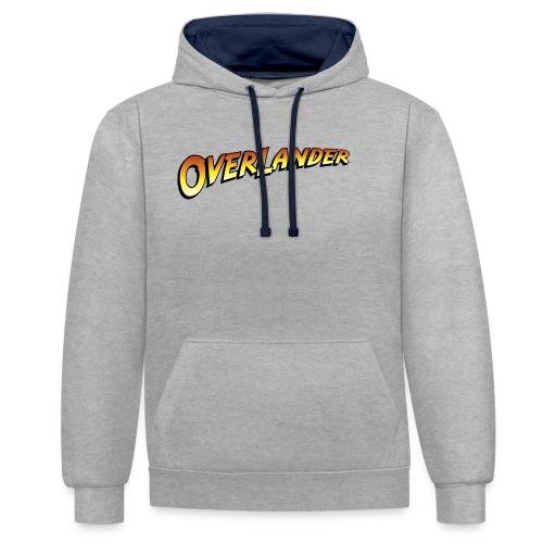 Overlander - Autonaut.com - Contrast Colour Hoodie