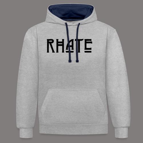 RHATE - Kontrast-Hoodie