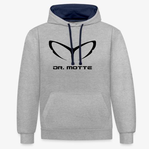 d. motte logo 2 - Contrast Colour Hoodie