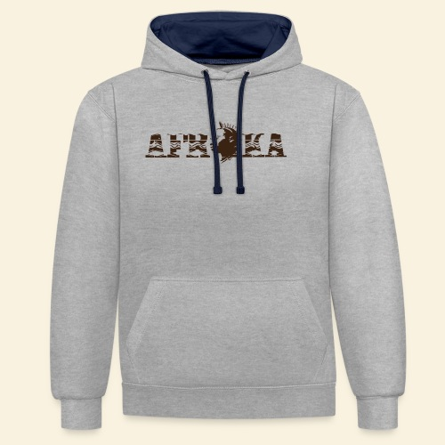 afrika - Sweat-shirt contraste