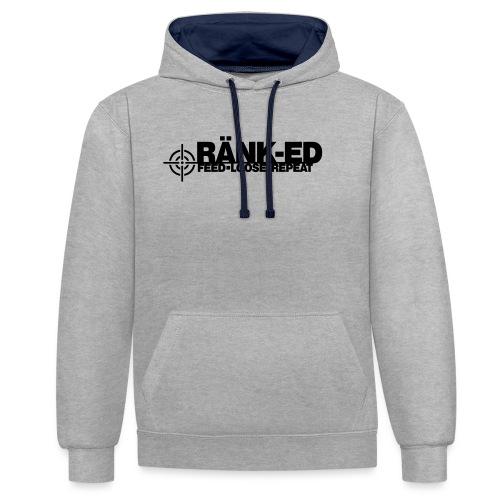 Ränk-ed - Contrast Colour Hoodie