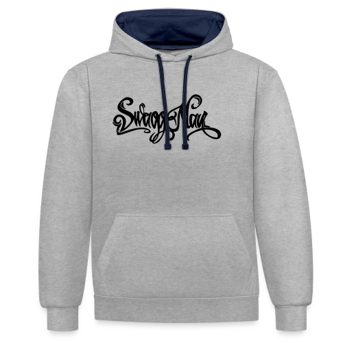 Swagg Man logo - Sweat-shirt contraste