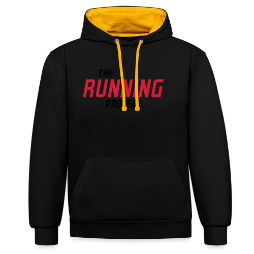 Ihr Running Project - Kontrast-Hoodie