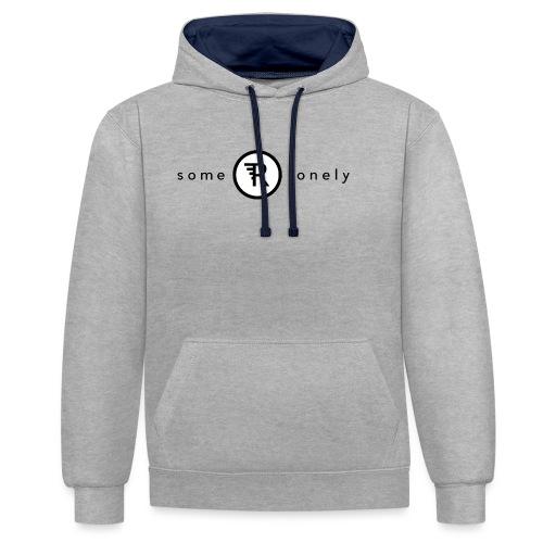 Some Are Lonely - Ekologisk T-shirt i killstorlek - Kontrastluvtröja