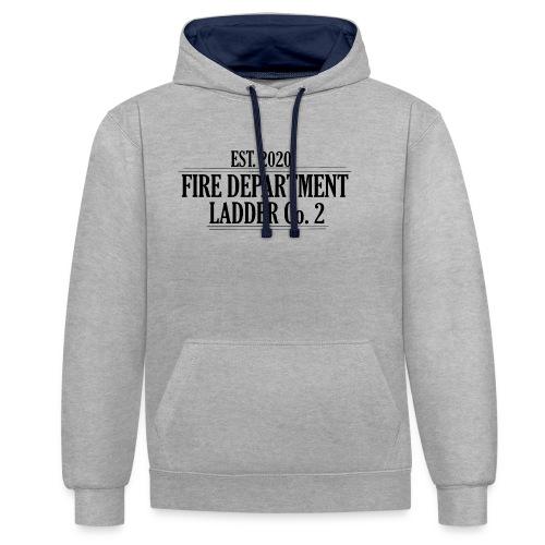 Fire Department - Ladder Co.2 - Kontrast-hættetrøje