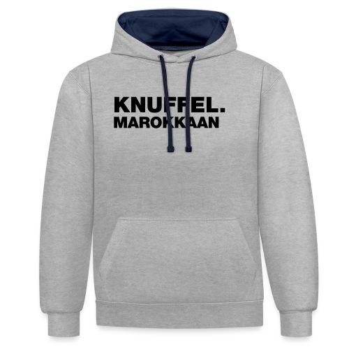 KNUFFEL MAROKKAAN - Contrast hoodie