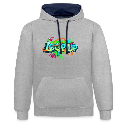 Loop up 4 - Kontrast-Hoodie