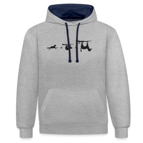 Lui paard Formule Luipaar - Contrast hoodie