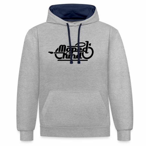 Moped Kind / Mopedkind (V1.0) - Contrast Colour Hoodie