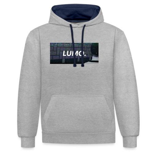 Lumo Label - Kontrast-Hoodie