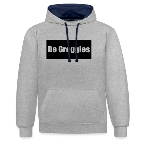 De Greggies Sweater - Contrast hoodie