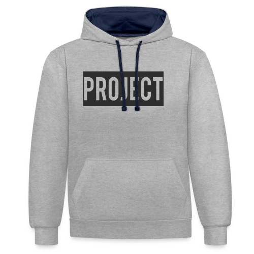 Project - Contrast Colour Hoodie