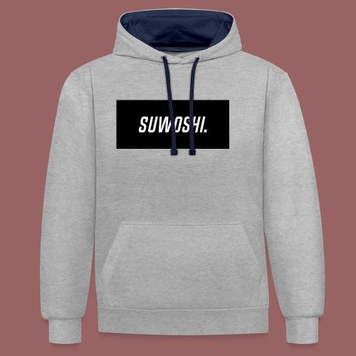 Suwoshi Sport - Contrast hoodie