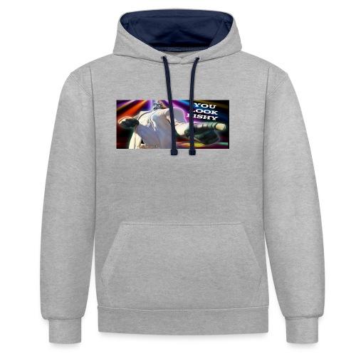 Tony Binks Range - Contrast Colour Hoodie