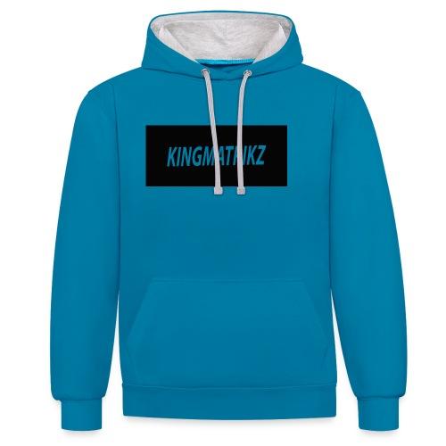 kingmatrikz - Kontrast-hættetrøje