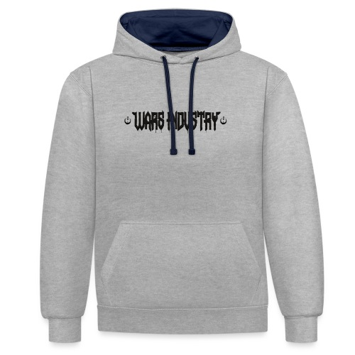 Premium noir - Sweat-shirt contraste