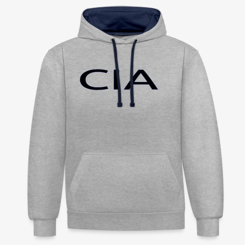 CIA - Contrast Colour Hoodie