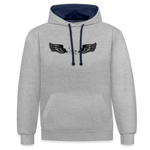 Seraph Wings Logo - Sweat-shirt contraste