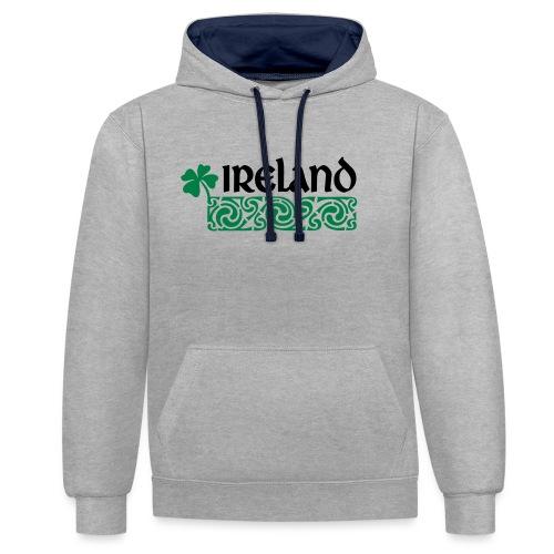Ireland - Contrast hoodie
