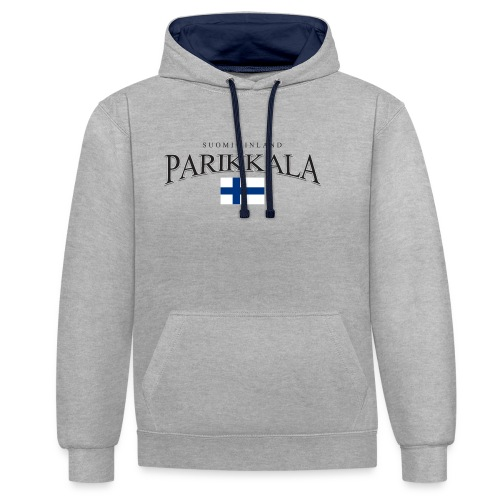 Suomipaita - Parikkala Suomi Finland - Kontrastihuppari