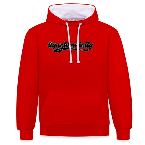 Synchronicity - Sweat-shirt contraste