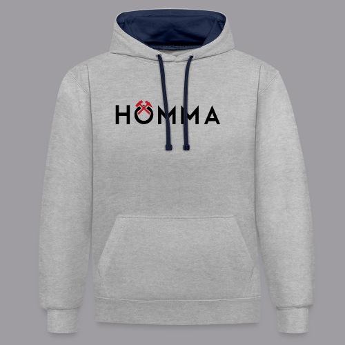 HÖMMA - Kontrast-Hoodie
