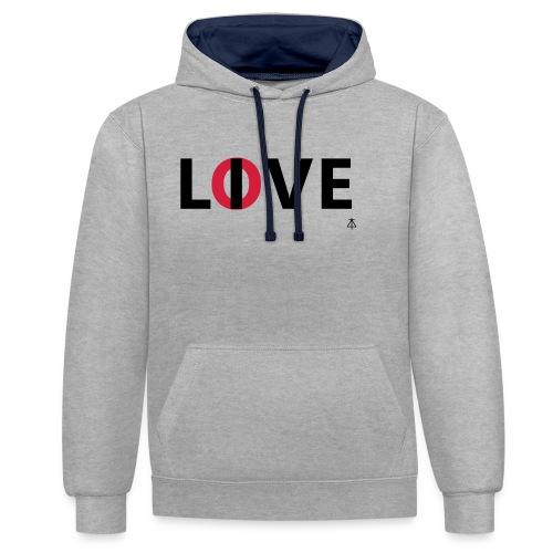 Love live - Contrast hoodie