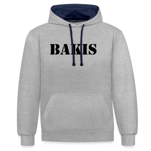 bakis - Contrast Colour Hoodie