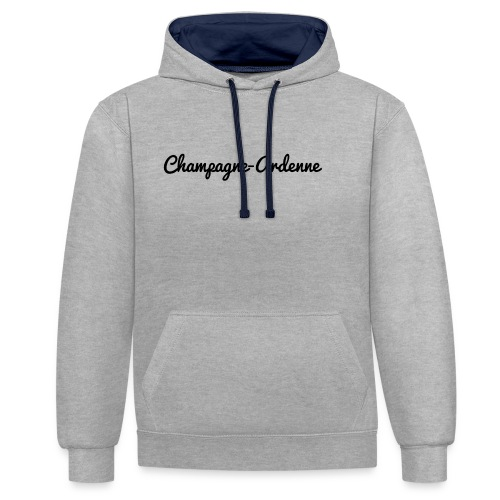 Champagne-Ardenne - Marne 51 - Sweat-shirt contraste