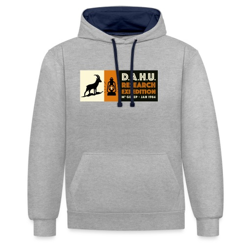 Expedition Chasse au Dahu - Sweat-shirt contraste