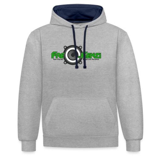 FreQ.Kenzi Logo - Kontrast-Hoodie