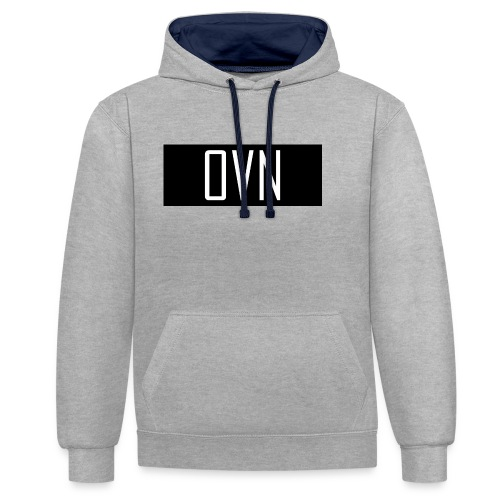 OVN Strapback - Contrast hoodie