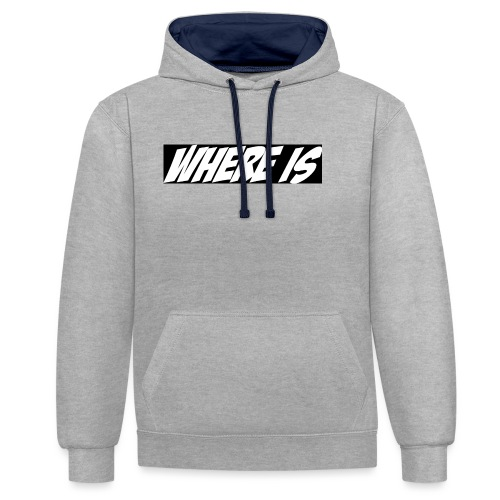 Where IS - Sweat-shirt contraste