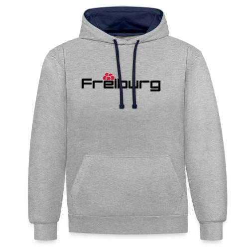 Freiburg - Kontrast-Hoodie