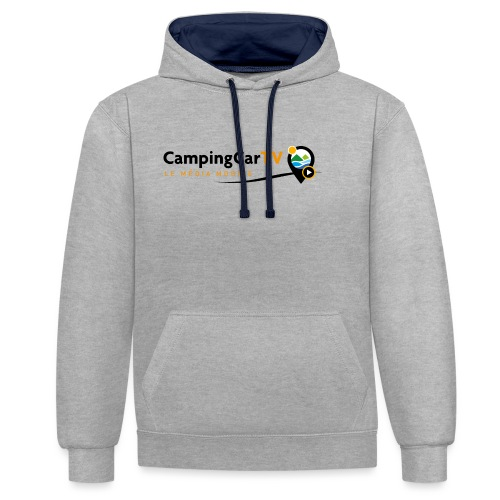 LOGO CCTV - Sweat-shirt contraste